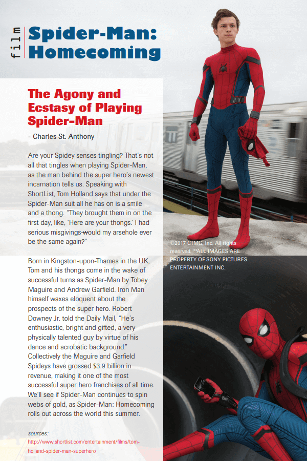 Spider-Man article by Charles St. Anthony